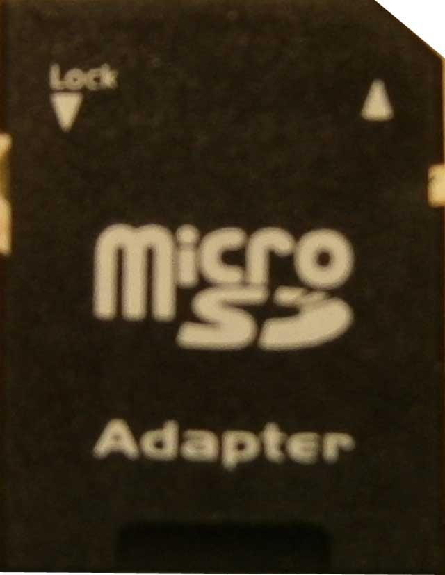 Adaptors for Micro Memory Cards