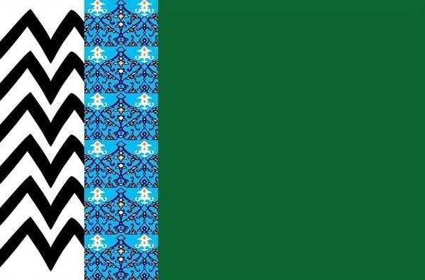 3 Colour Madani Flag (Good Quality NPH) - Large 92cm x 62cm