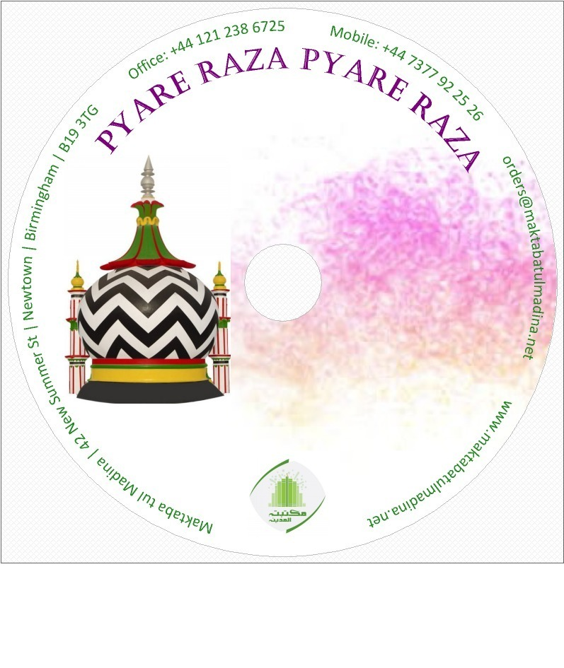 Pyare Raza Pyare Raza MP3 CD